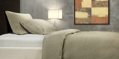 100% FRENCH LUX LINEN QUILT AND PILLOW SET
