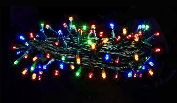 SOLAR 250 COLOUR PARTY/CHRISTMAS LED
