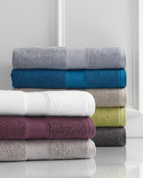 Renee Taylor Aria 600 GSM Zero Twist 100% Egyptian Cotton 2 PC Bath Sheet towel