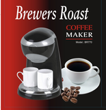 Brewer's Roast Coffee Maker with 2 Ceramic Cups