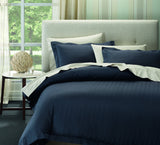 Ddecor Home 1000 TC Como luxury Stripes Quilt Cover Set