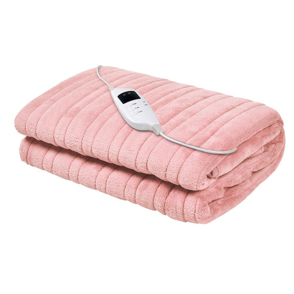 Royal Comfort Heated Electric Throw Rug Fleece Blanket  - 3 Colours