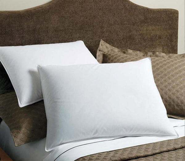 Royal Comfort Goose Feather Pillows -set of 2