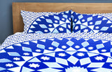 MANDALA QUILT COVER SET -DOUBLE -MARLEY + Duck Pillows