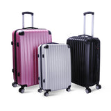 Milano 3 Piece Premium  ABS Luggage Set