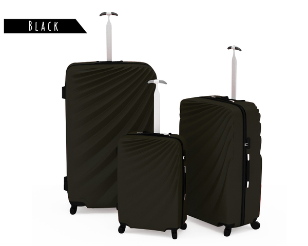 Deluxe 3PC Luggage Sets