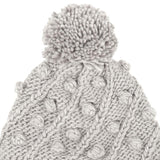 Knited Hooded Scarf by Milano Couture