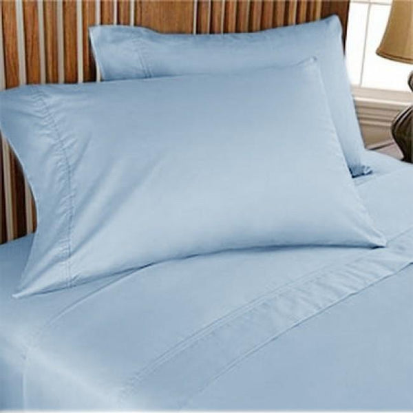 Luxurious 1000-thread count Egyptian Blue sheet sets Queen