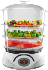 Food Steamer - Quick Start & Powerful Steam Functions