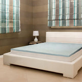 GelTech Gel Infused High Density Memory Foam Overlay Mattress Topper - Double
