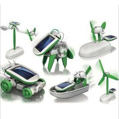 Solar Toy 6 In 1, Educational DIY Kit,Self-chambering Gadget