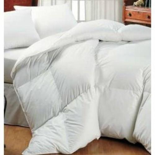 Royal Comfort Goose Feather Down Quilt + Goose Pillows