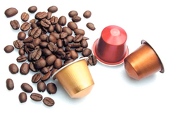 Coffee Machine Compatible with Nespresso Capsules