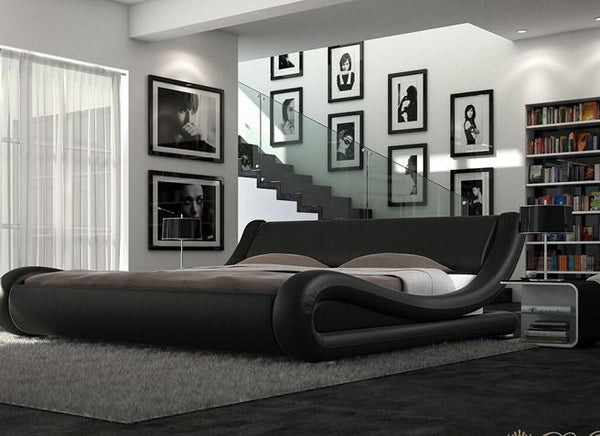 Madrid Bed King in Black