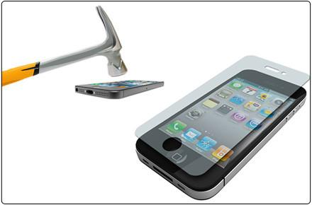 ScreenSaver Indestructible Screen Protector for iPhone & Galaxy