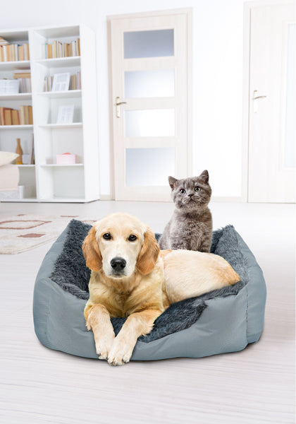 4 Paws Ultra Luxe Rectangle Pet Bed