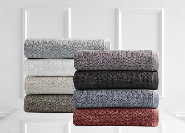 Style & Co Resort 600 GSM Egyptian Cotton Jacquard 14 Piece Towel Pack