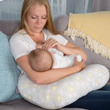 CuddleCo Comfi Mum Memory Foam Feeding Pillow Beehive