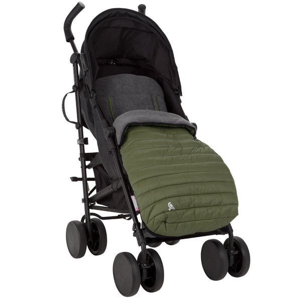 CuddleCo Comfi Snug 2 in 1 Footmuff and Liner khaki