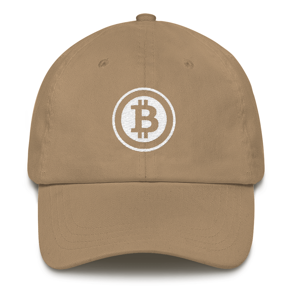 Bitcoin Defender - Bitcoin Dad Hat - Bitcoin - Bit Attire