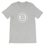 Bitcoin Defender - Bitcoin Short Sleeve Unisex T-Shirt - Bitcoin - Bit Attire
