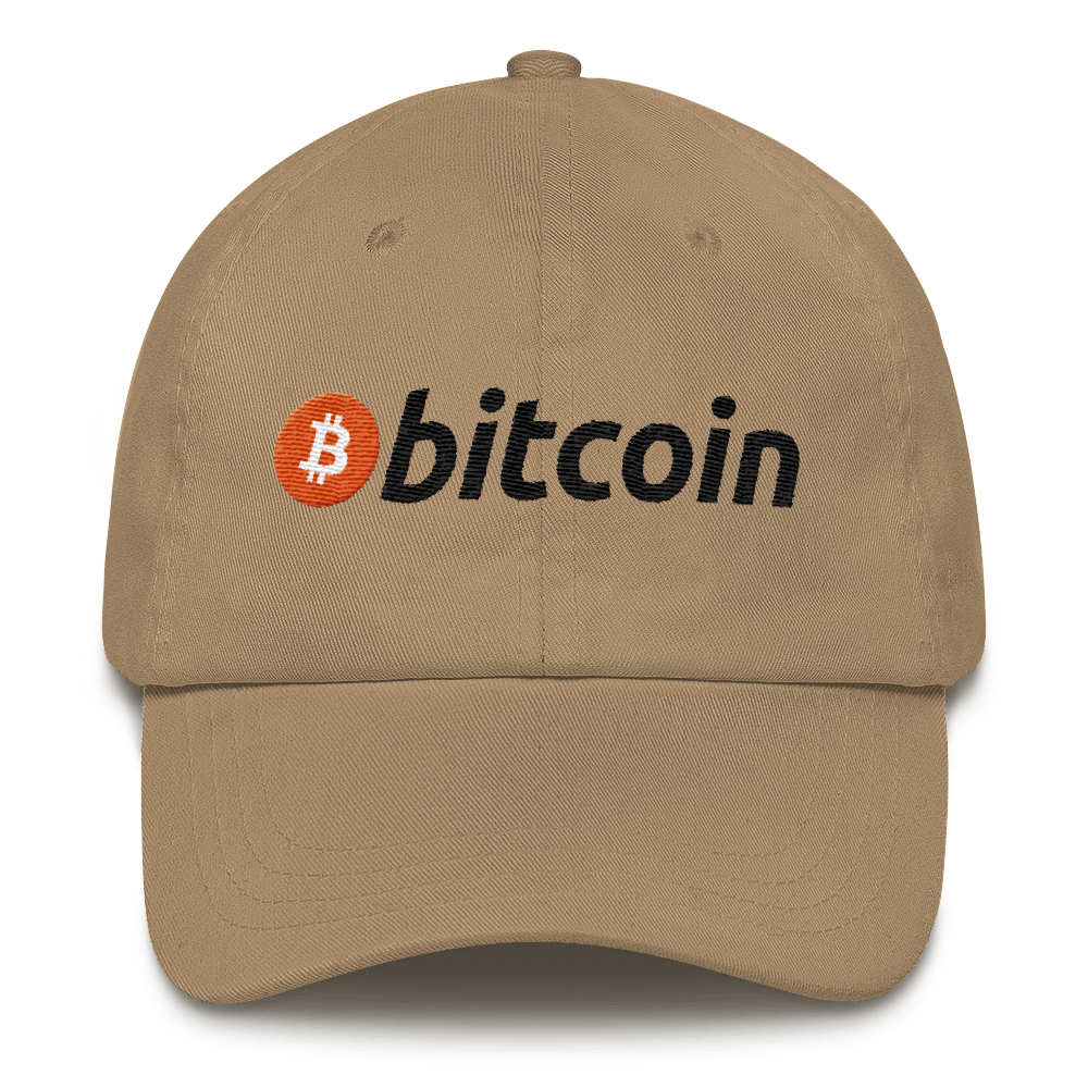 Bitcoin Hat - Bitcoin Classic Dad Hat