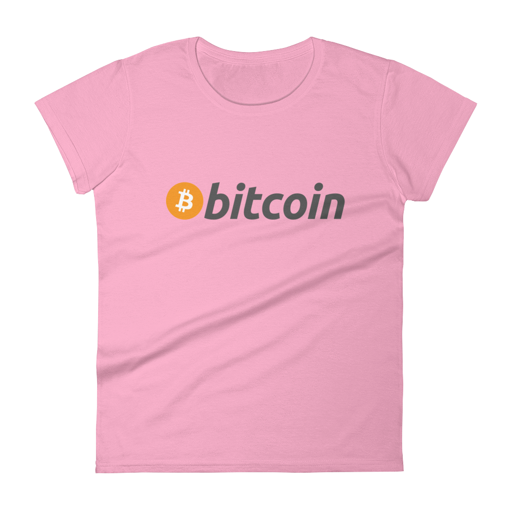 Bitcoin Classic - Bitcoin Womens Short Sleeve T-Shirt - Bitcoin - Bit Attire