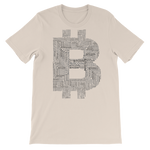 Bitcoin Collage - Bitcoin Short Sleeve Unisex T-Shirt - Bitcoin - Bit Attire