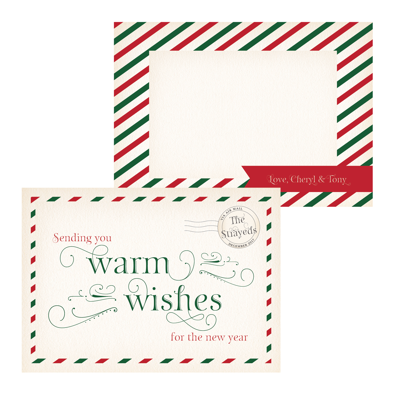 Airmail Warm Wishes