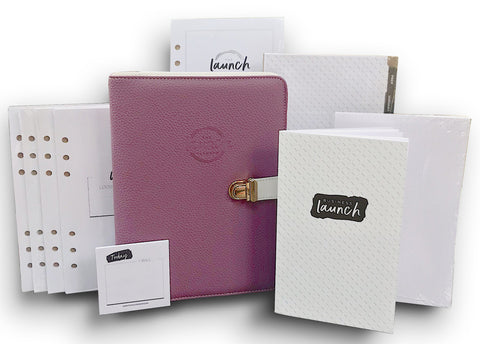 THE LAUNCH PLANNER™ :<br/> 7-Piece Planning Kit