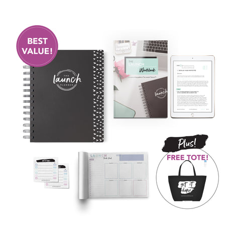 The Launch Planner™ Kit : July 2018 - June 2019