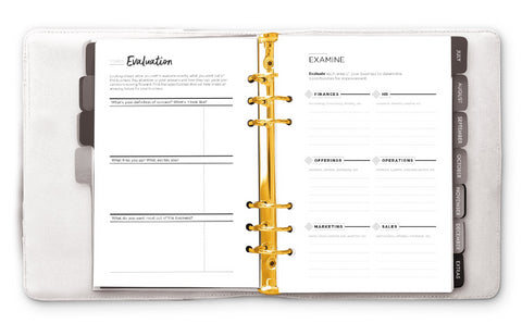 THE LAUNCH PLANNER™ : Signature Startup System with 7-Piece Planning Kit
