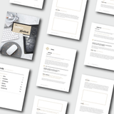 THE LAUNCH BUNDLE: </br>Planner + Digital + Workbook