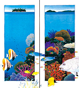 "P15-P16(pair). ""Barrier Reef"""