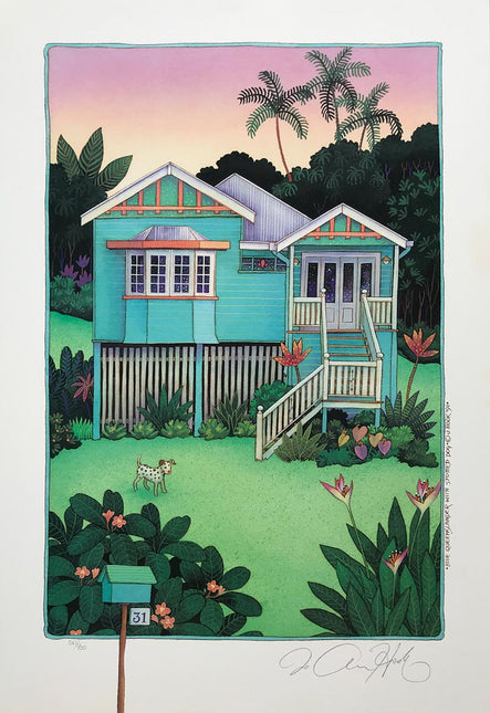 Pink & Blue Queenslander