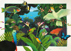 P19-'Life Abounding of Rainforest & Reef'
