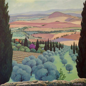 View From Pienza, Italy