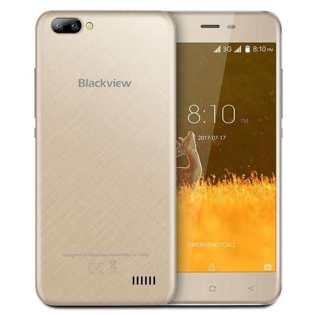 Blackview A7 Android 7 0 MTK6580A Quad Core RAM 1GB ROM