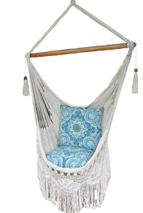Byron Hanging Chair Hammock Chair - Natural White