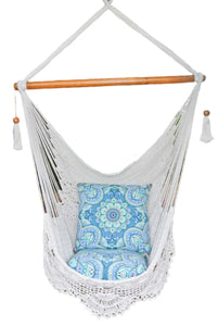 Cabarita Hammock Chair - Natural White