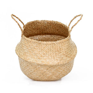 Belly Basket Natural Seagrass