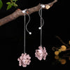 Flower Drop Earrings - CYCOORDI