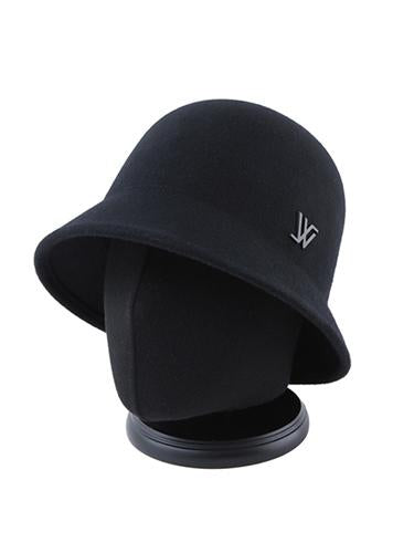 Modern Cloche Hat Black Edition 109L