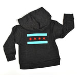 Chicago Flag Baby Zip-Up Hooded Sweatshirt