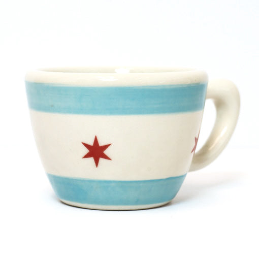 Chicago Flag Handmade Ceramic Mug