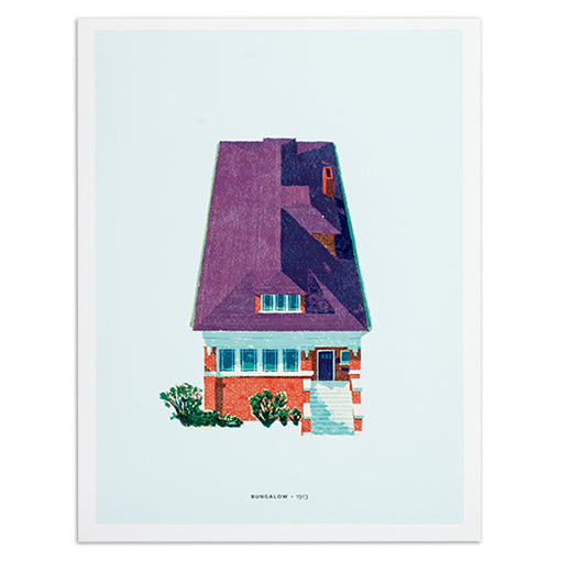 chicago-bungalow-print-12x16