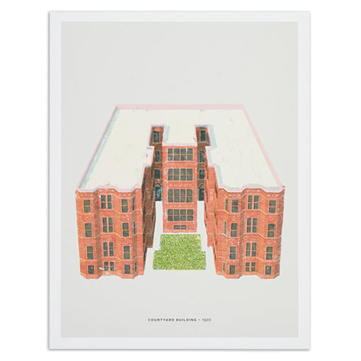 chicago-courtyard-building-print-12x16