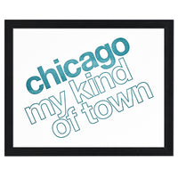 "Chicago My Kind of Town 8"" x 10"" Letterpress Print"