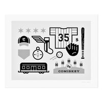 "White Sox Icons 11"" x 14"" Print"