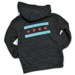 Chicago Flag Kids Hooded Sweatshirt